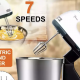 Electric hand mixer 7-speed mini